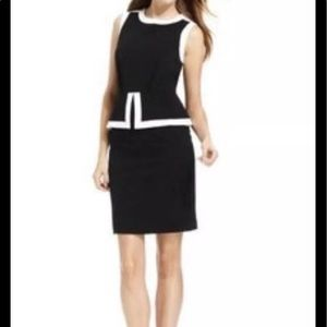 Calvin Kline color block pendulum Dress